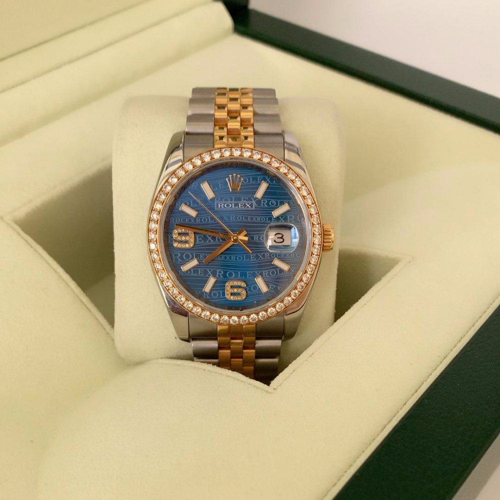 ساعة رولكس دست جست الأصلية الثمينة مستعملة