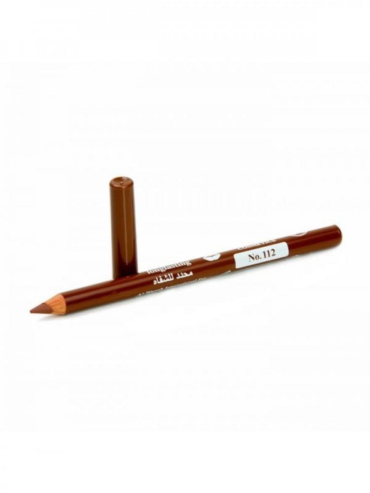 قلم تحديد شفايف طويل الامد من جيسيكا 112 بني
