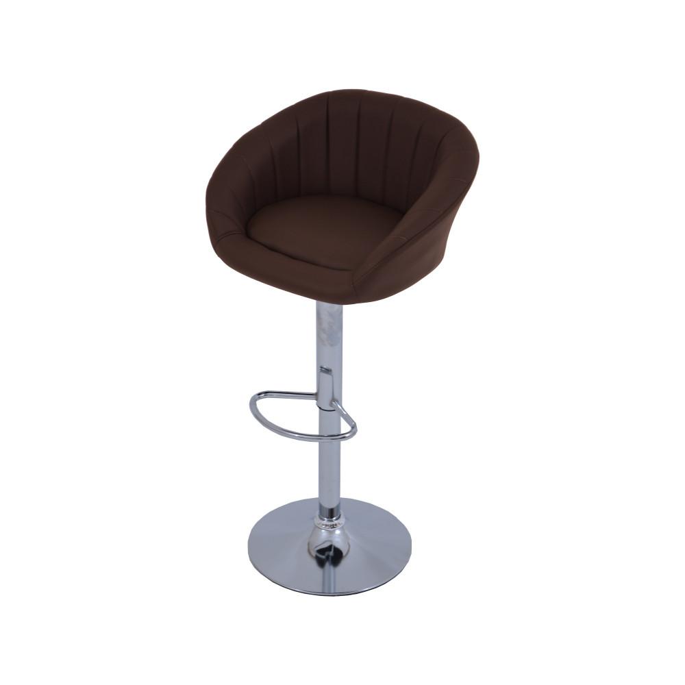 كرسي بوفيه جلد بني C-DTB311BROWN من كاما