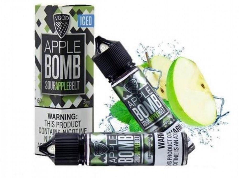 نكهة تفاح بومب ايس Apple Bomb