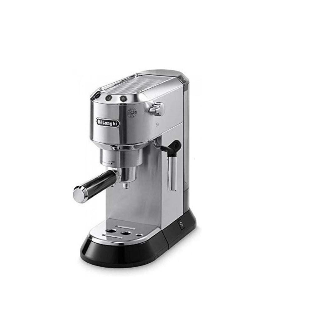 ديلونجي ديديكا صانعة قهوة فضي Ec685w ديديشن مع تبخير 1350 واط ماء 1 ل متجر توليب للعناية والتجميل