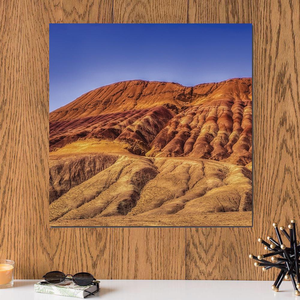 لوحة تضاريس الجبل خشب ام دي اف مقاس 30x30 سنتيمتر