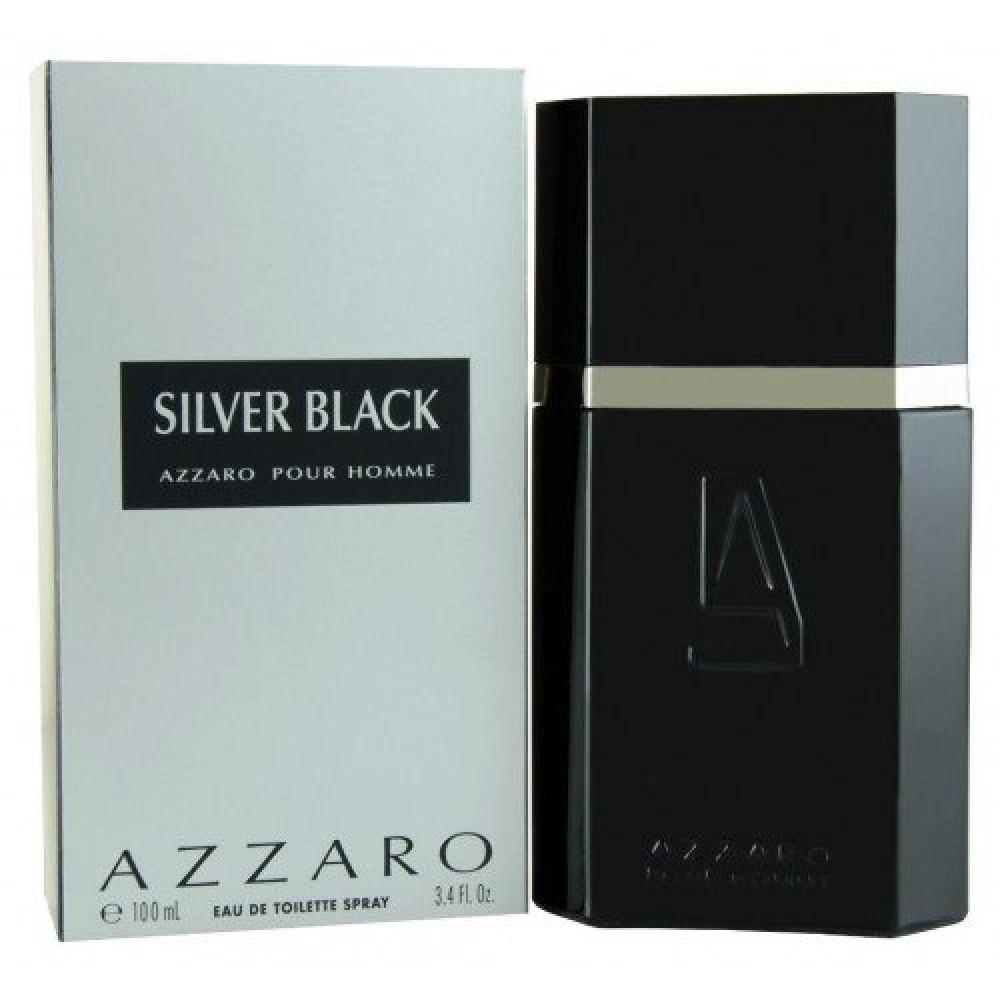 Azzaro Silver Black Eau de Toilette 100ml خبير العطور