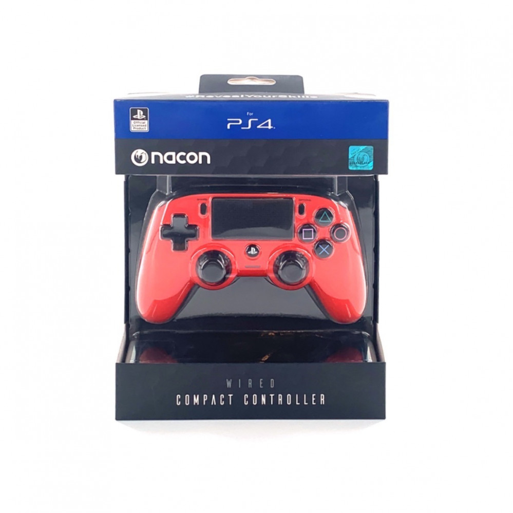 Nacon Wired Controller Red