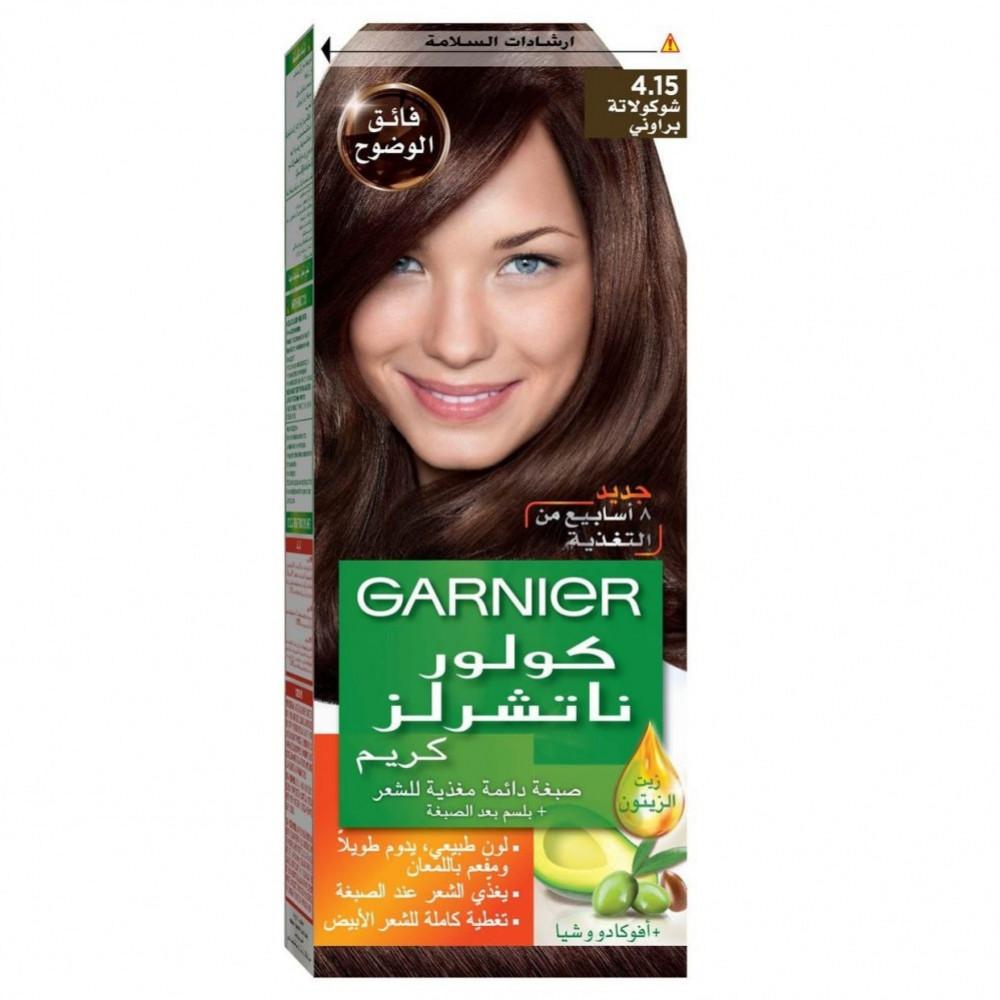 غارنييه صبغة شعر شوكولاتة براوني 15-4