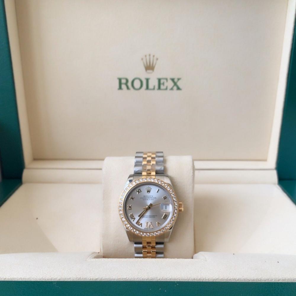 ساعة رولكس ديت جست الأصلية الفاخرة مستعمل 178383