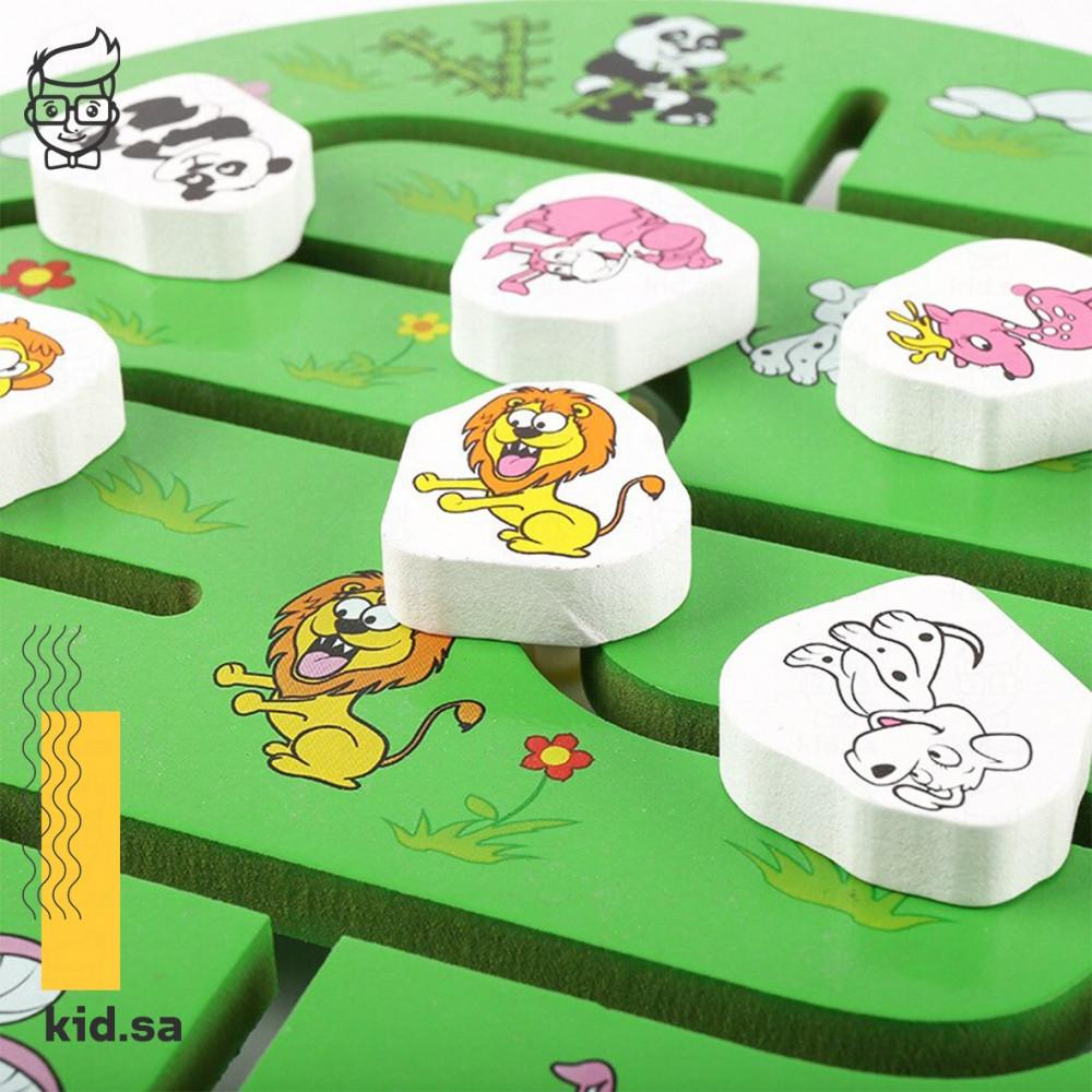 لعبة توصيل الحيوانات للاطفال الصغار