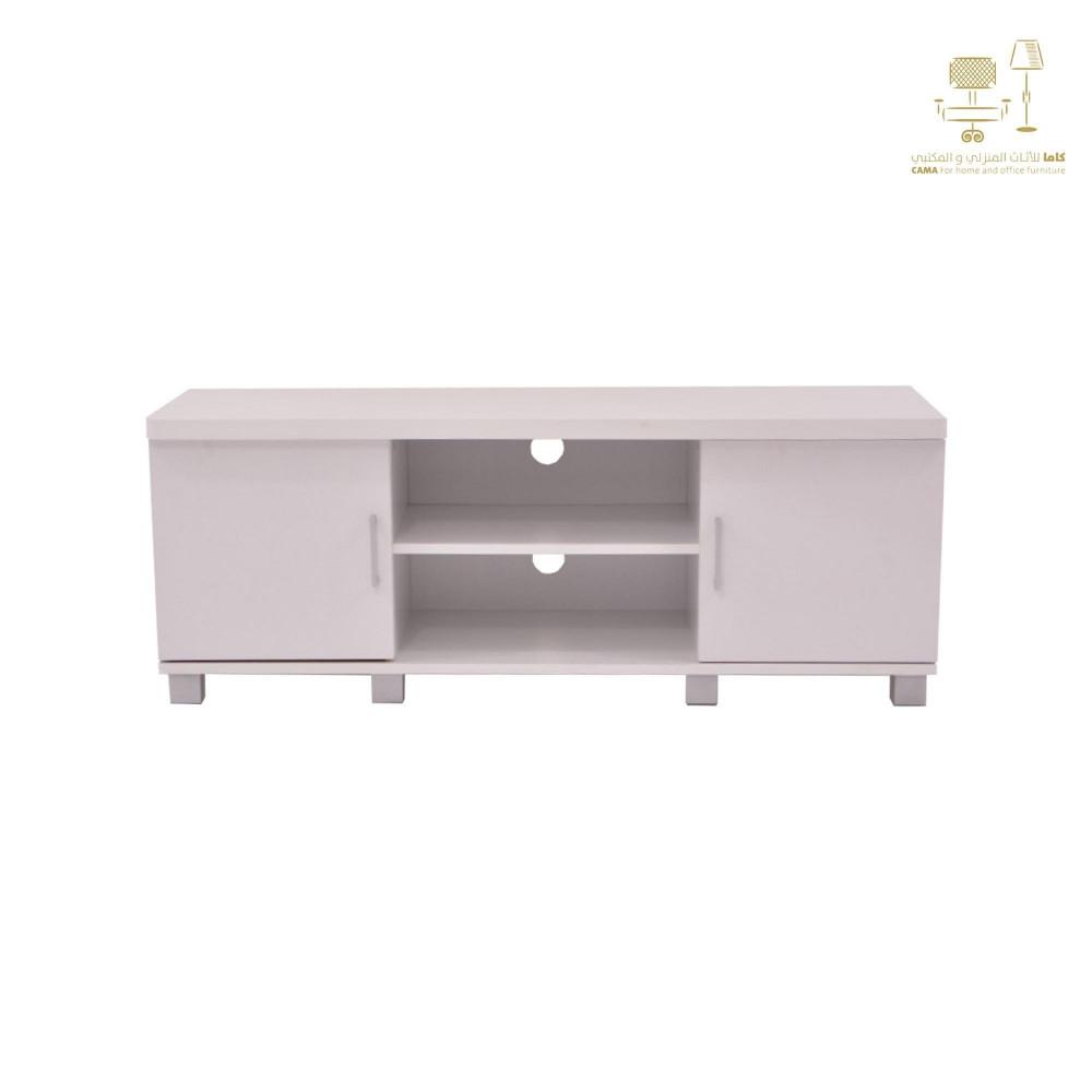 طاولة تلفزيون من كاما  C-120-white ash0095