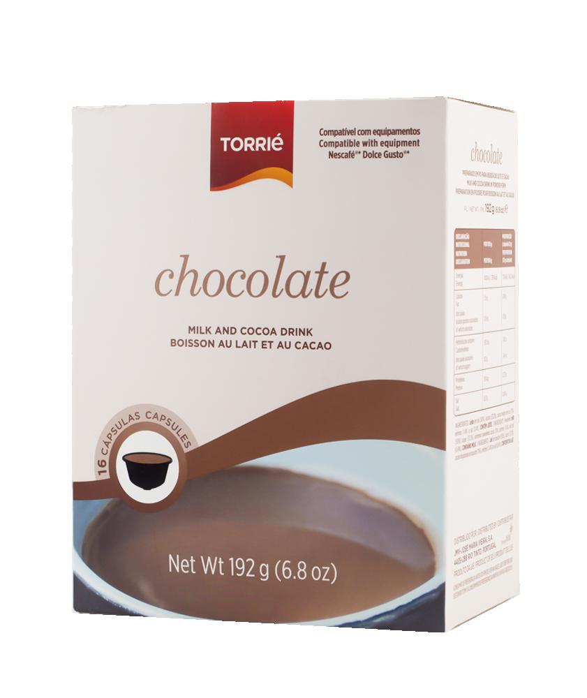 بياك توريه شوكولاته كبسولات القهوة