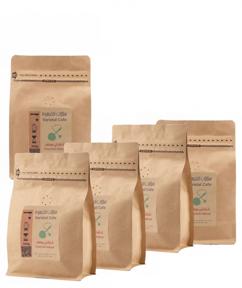 بياك مجموعة سلالات القهوة أثيوبيا شلشلي قهوة مختصة مجموعات