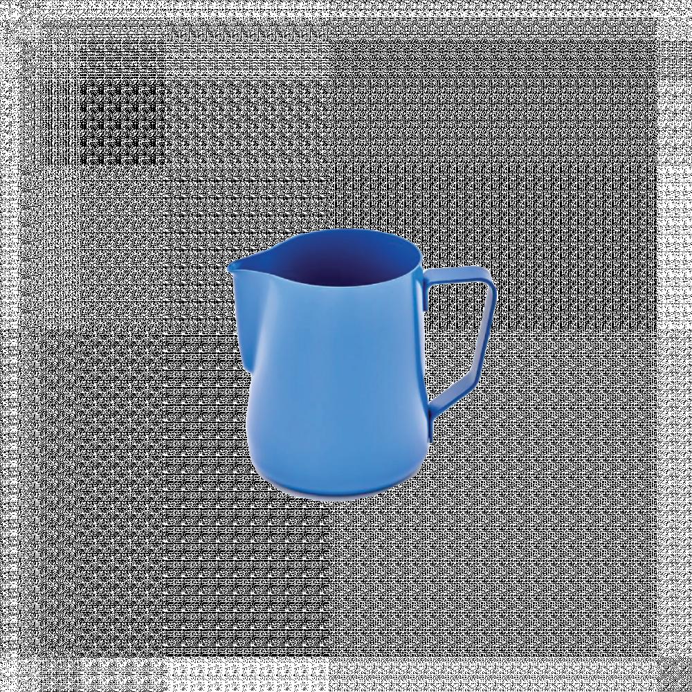 راينو ابريق تبخير حليب ازرق ادوات و مكائن القهوة