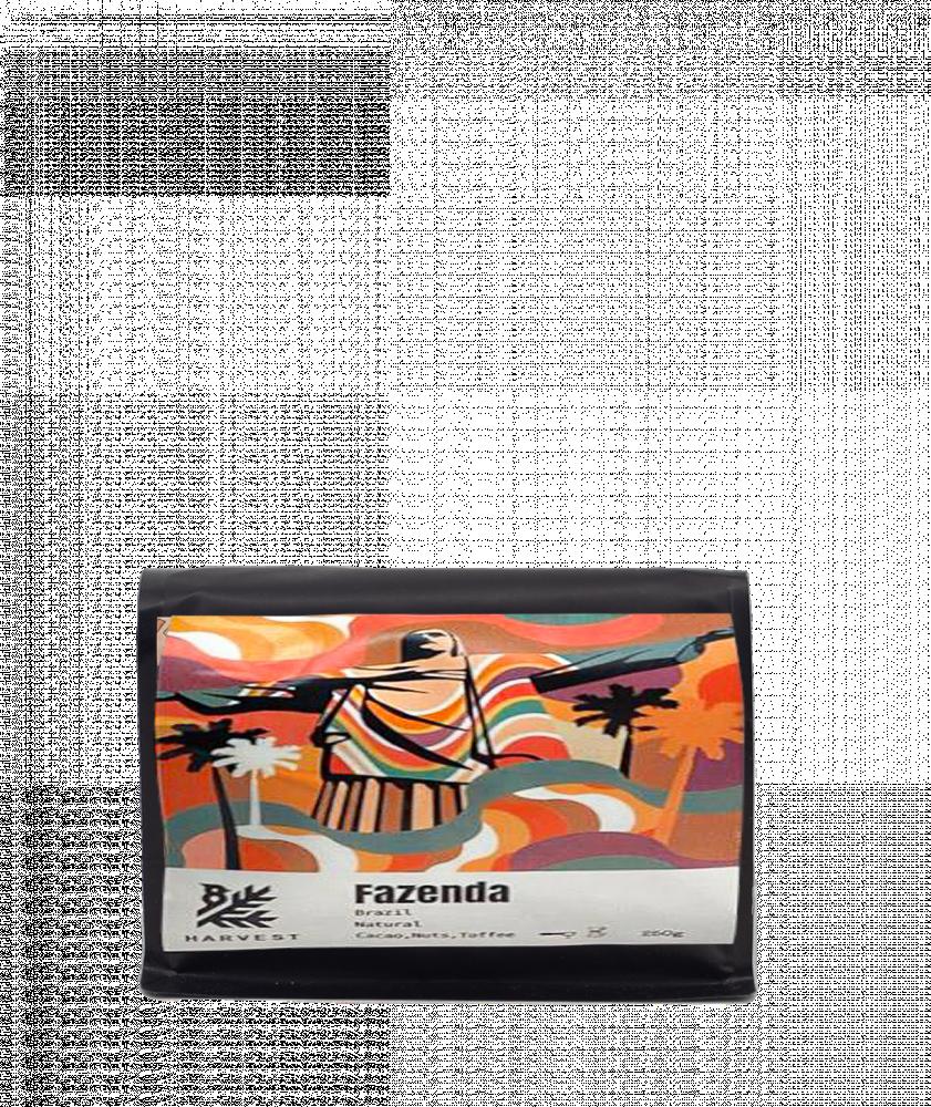 بياك هارفست البرازيل فازيندا قهوة مختصة