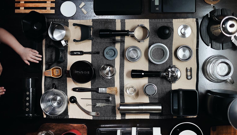 أدوات الإسبريسو