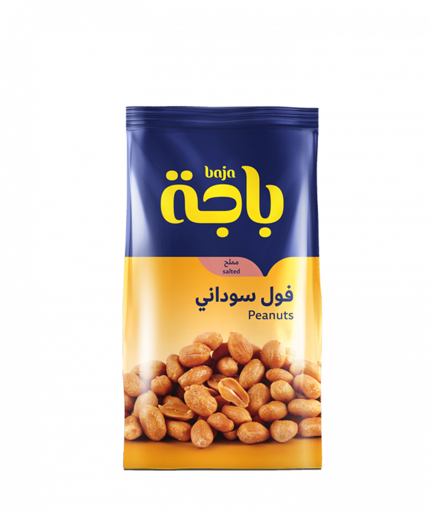 بياك باجة فول سوداني مملح مكسرات