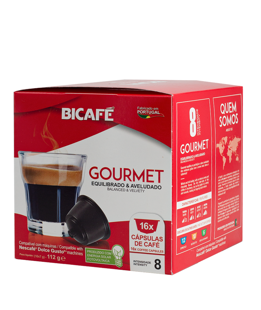 بياك بيكاف جورمية كبسولات القهوة