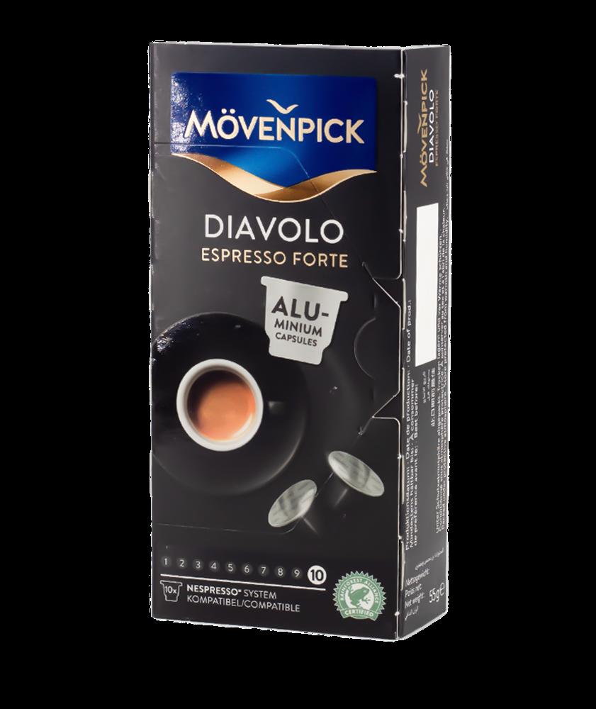 بياك موفنبيك ديافول كبسولات القهوة