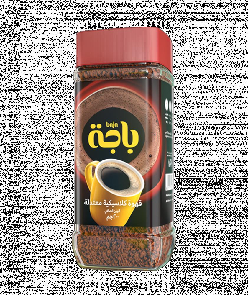 بياك باجة قهوة سوداء معتدلة قهوة عالمية