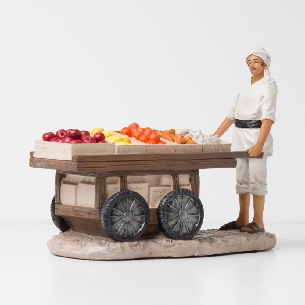 عربة الفواكه والخضار