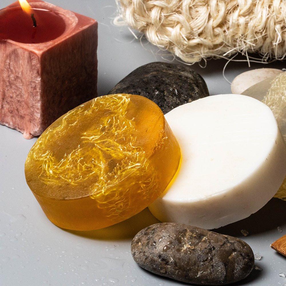 صابون سولا مع الليف وأملاح البحر الميت