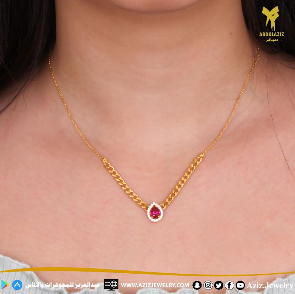 سلسال جنزير ذهب gold chain necklace