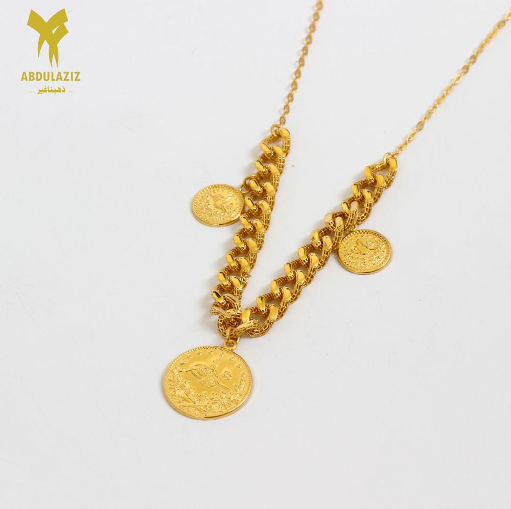 عقد  شوكر جنيهات ذهب Choker necklace, gold pounds