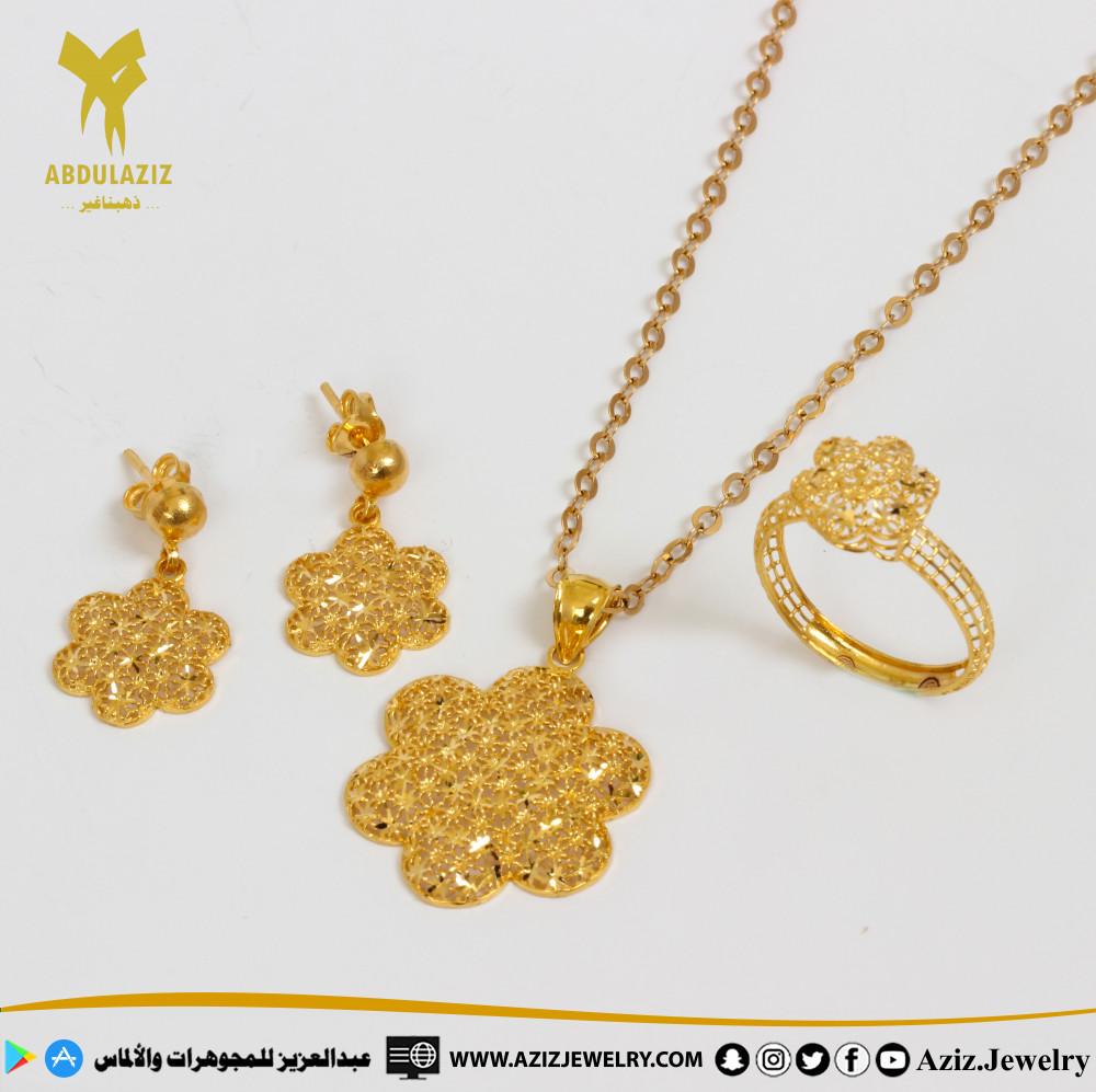 نصف طقم ذهب عيار21 Half set of 21 karat gold