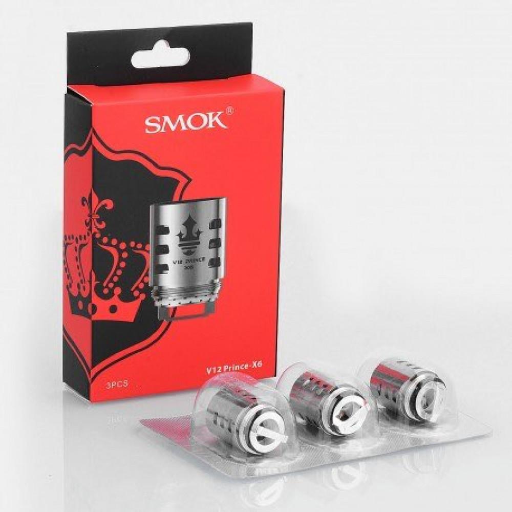 SMOK V12 X6 كويلات سموك برنس اكس سته كويلات جهاز سموك برنس