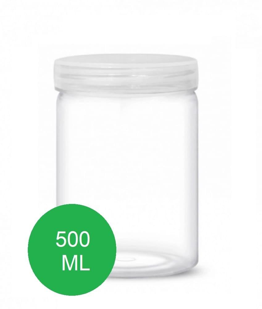 علب بلاستيك 500 مل