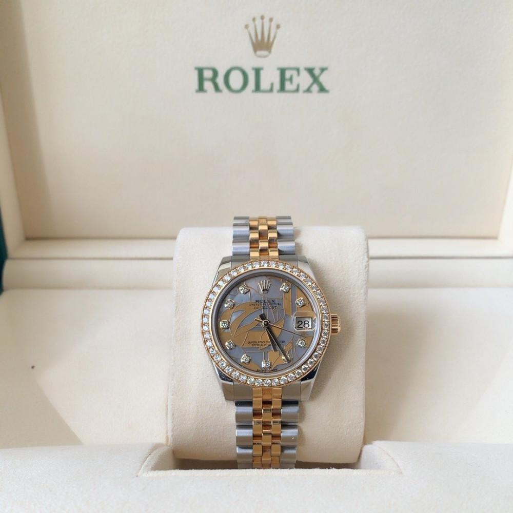ساعة رولكس ديت جست الأصلية الثمينة مستخدمة 178383