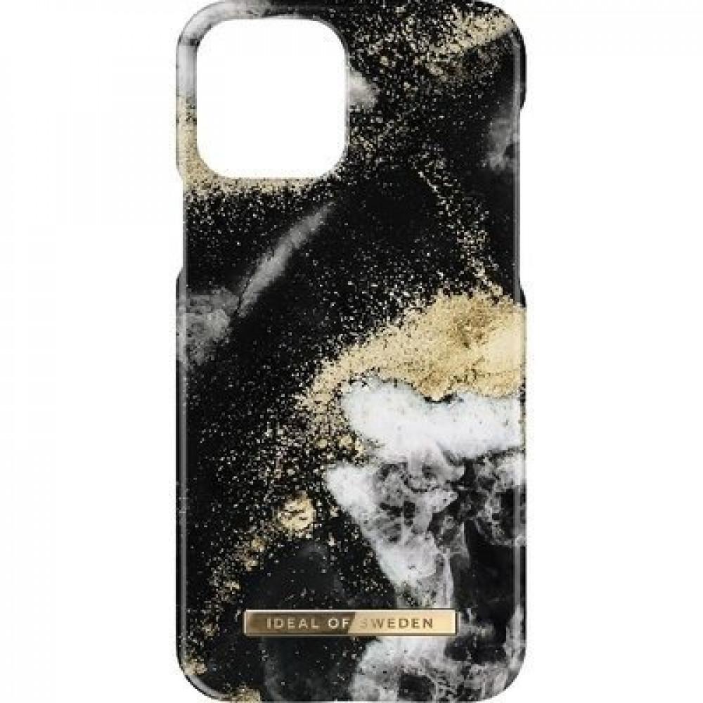 iDeal Fashion Case Black Galaxy Marble