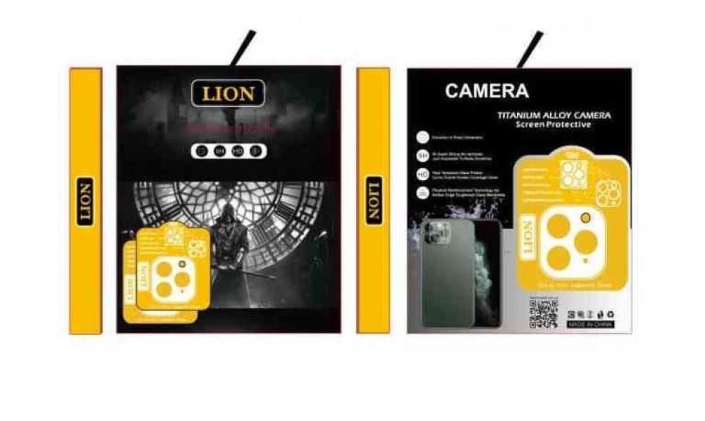 استيكر حماية كاميرا شفاف للايفون LION