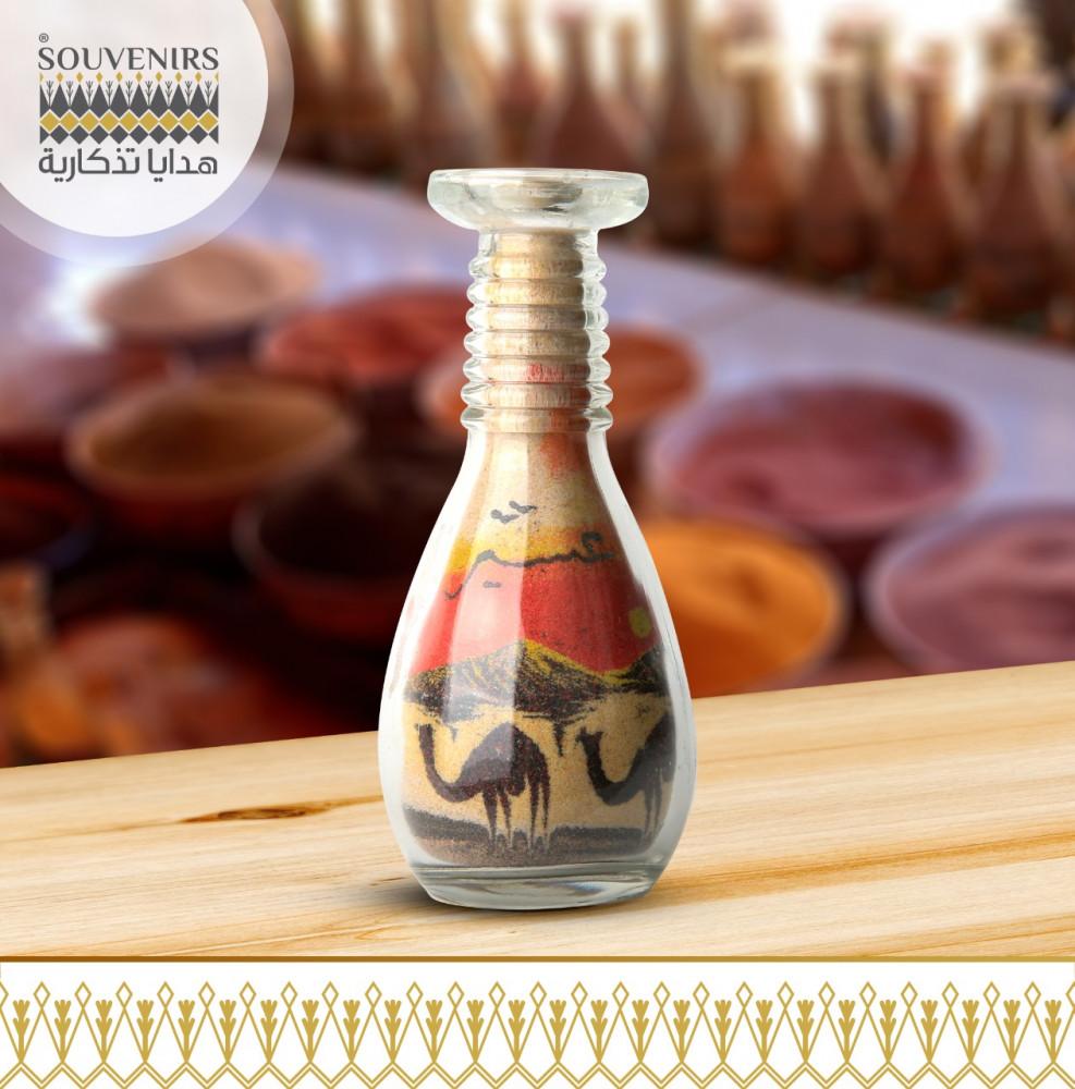 زجاجة رمل