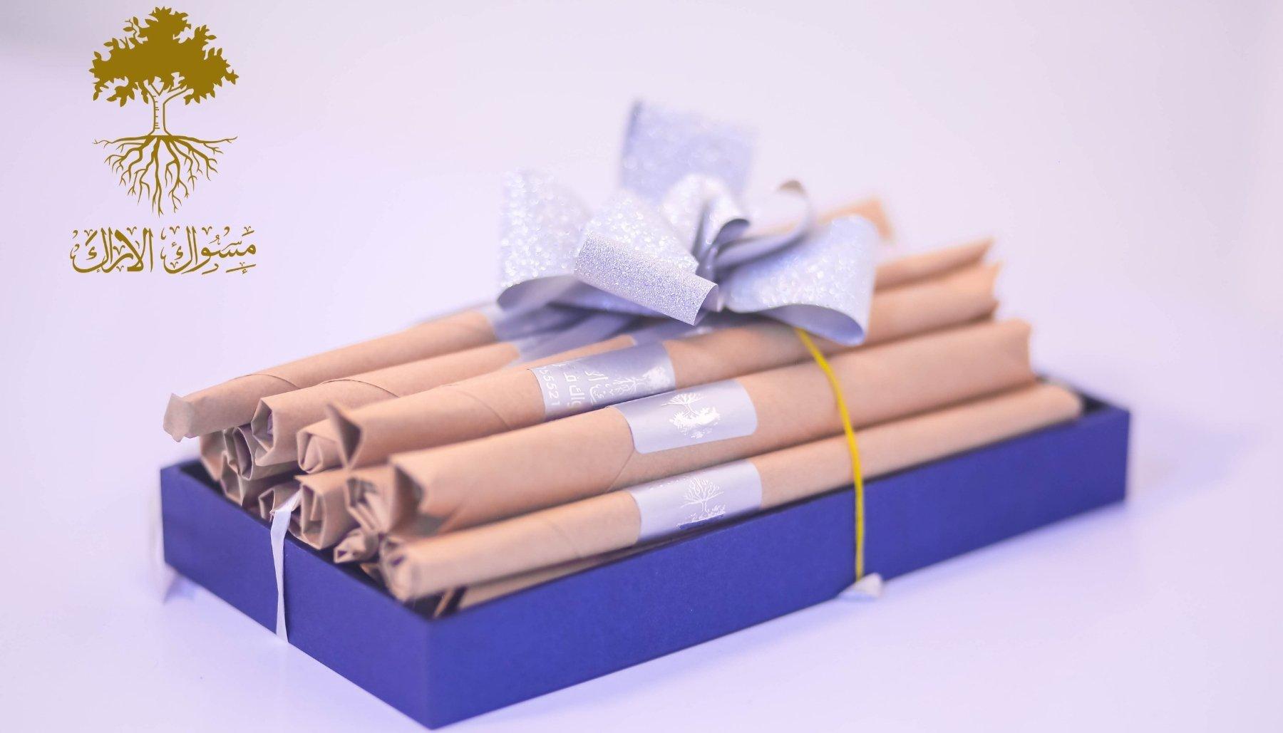 طبق تقديم هدايا   السواك الفاخر