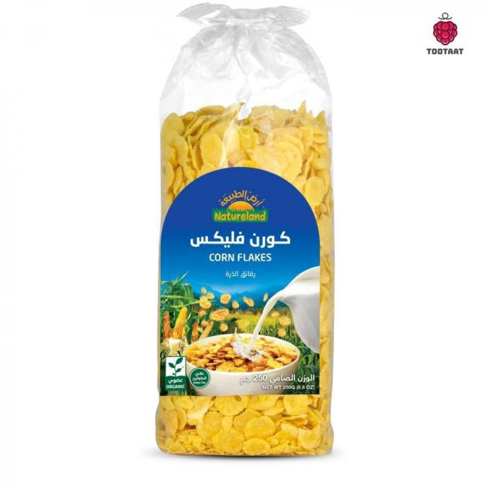 كورن فليكس Natureland Corn Flakes 250g Tootaat