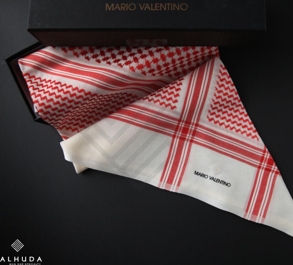 شماغ ماريو فالنتينو احمر بيج Svbm2