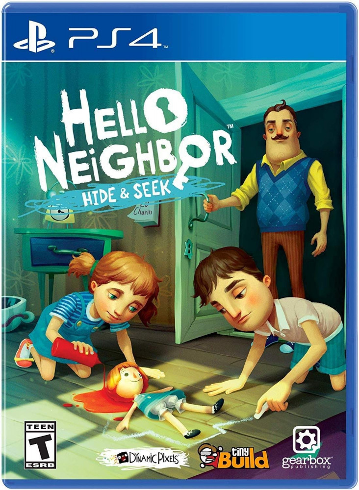 Hello Neighbor-Hide and Seek - PlayStation 4