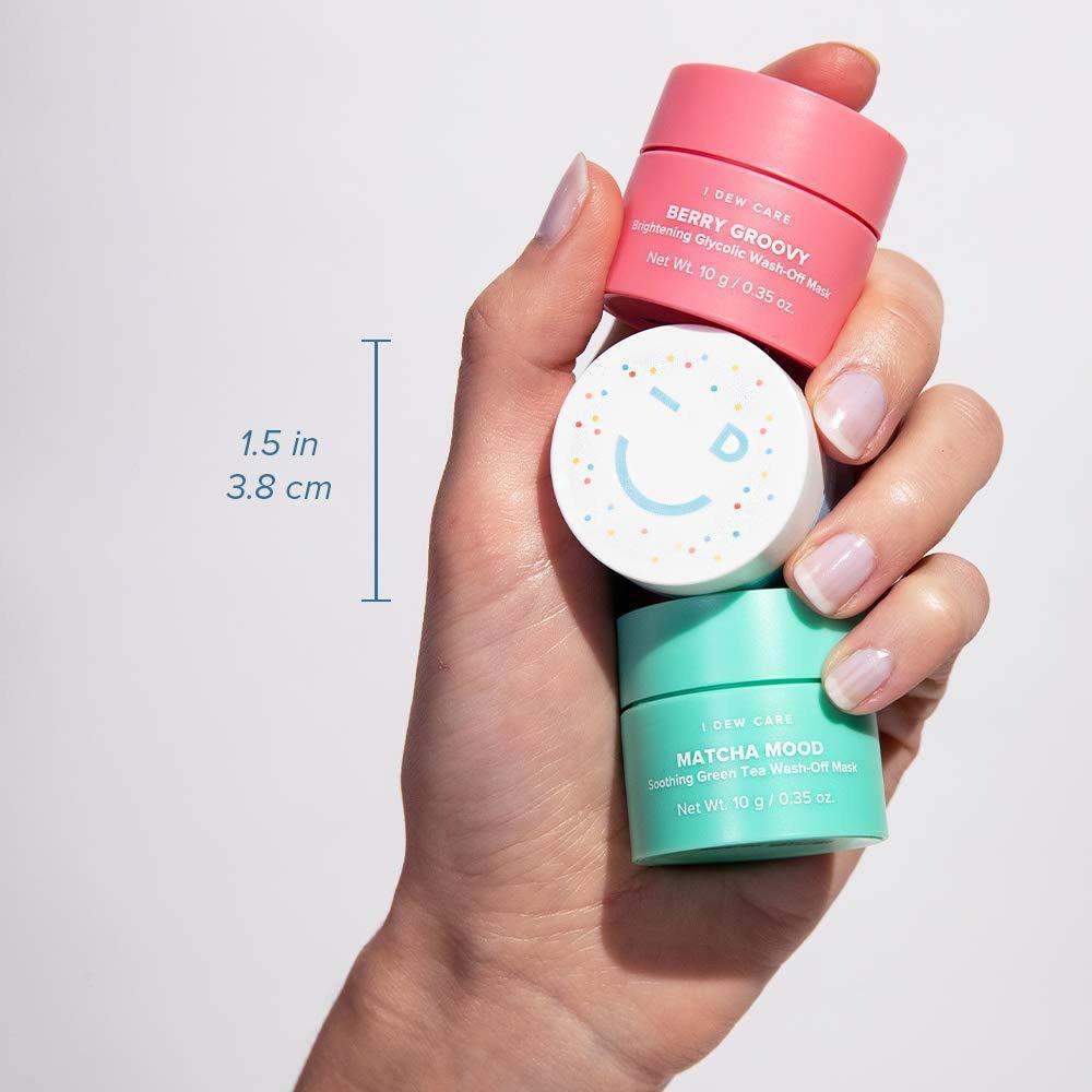 آي ديو كير-مجموعة قناع الطين ميني سكوب للعناية بالبشرة