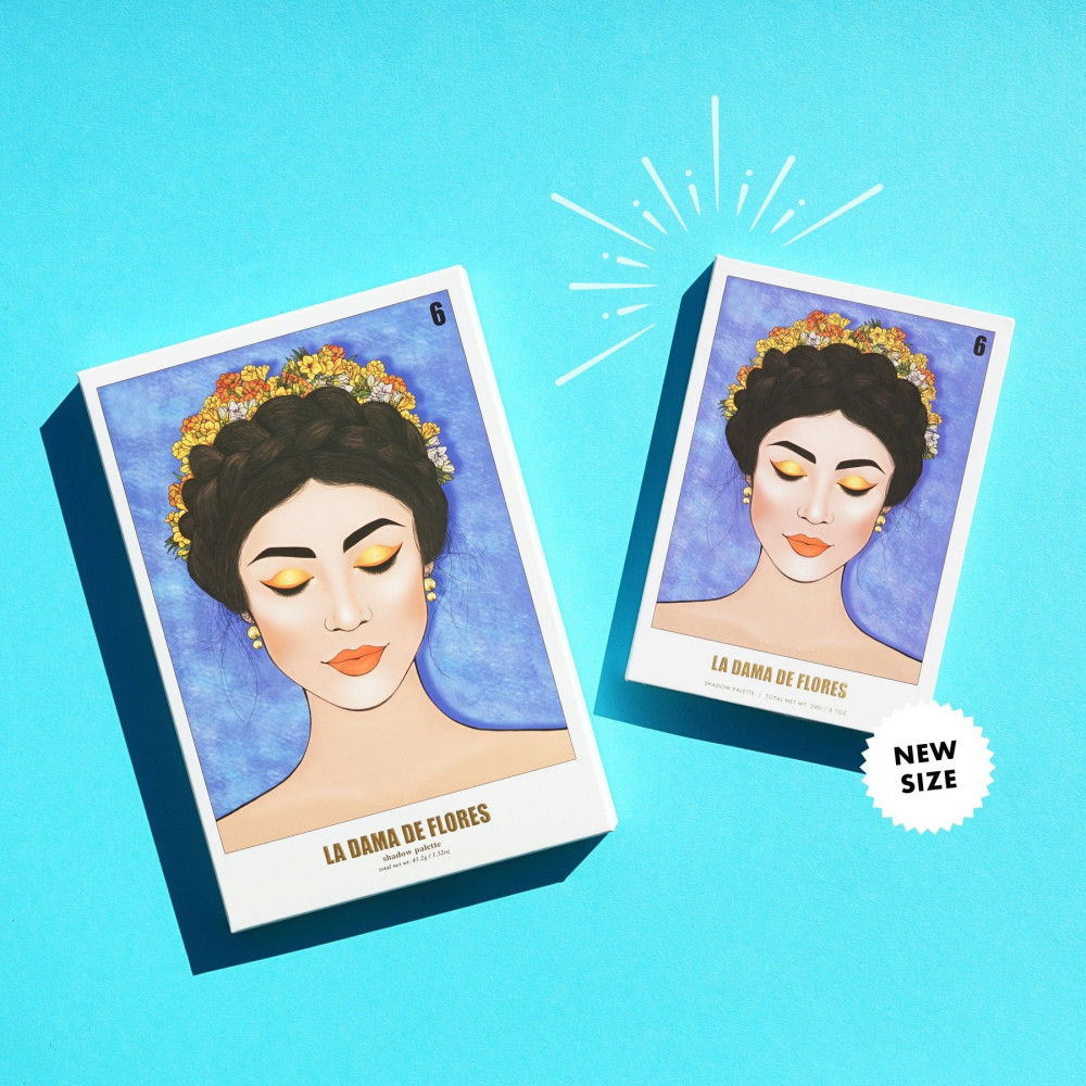 كارا بيوتي-باليت شادو La dama de flores ES111