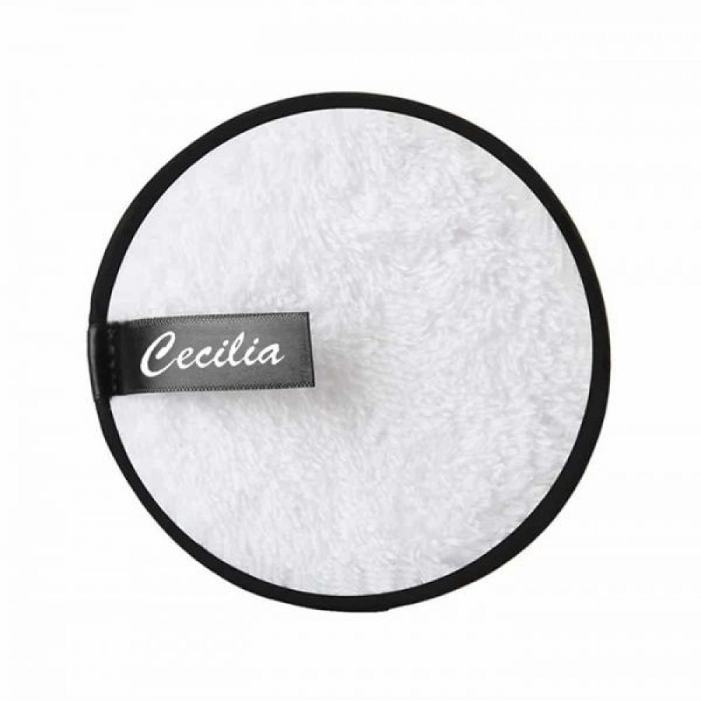 مناشف ازالة المكياج قابلة لاعادة الاستخدام 3 وسادات من سيسليا ابيض