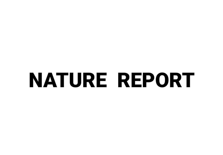 ناتشر ريبورت NATURE REPORT