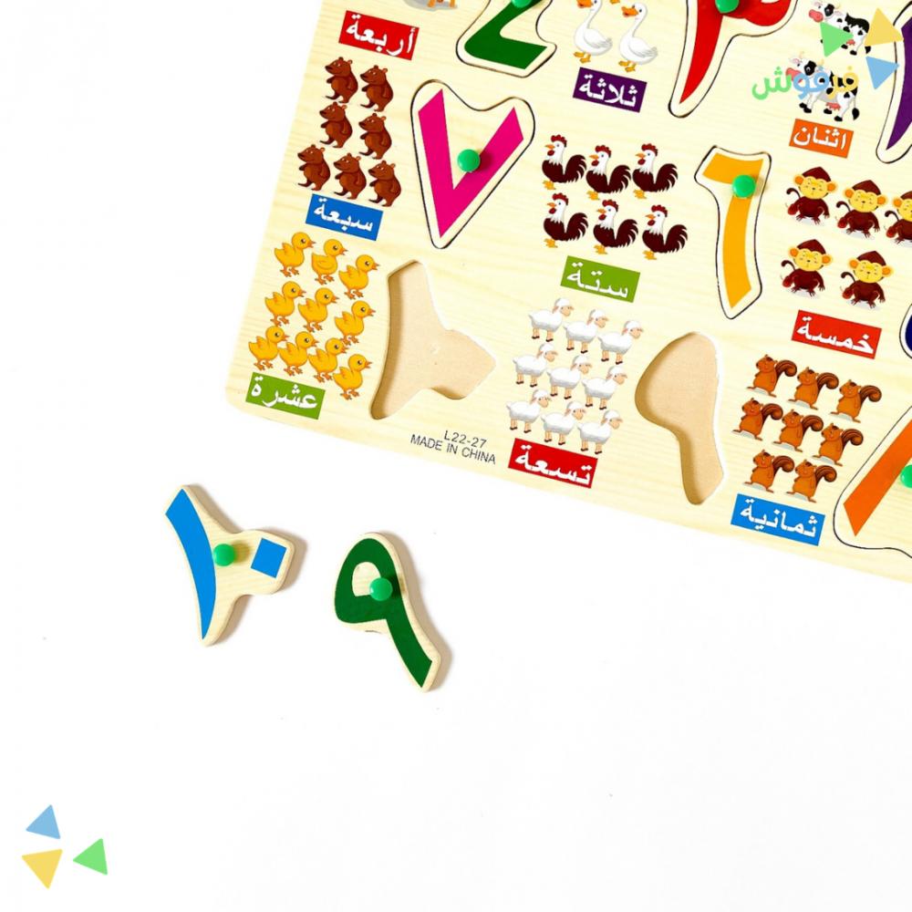 لعبة الارقام العربية