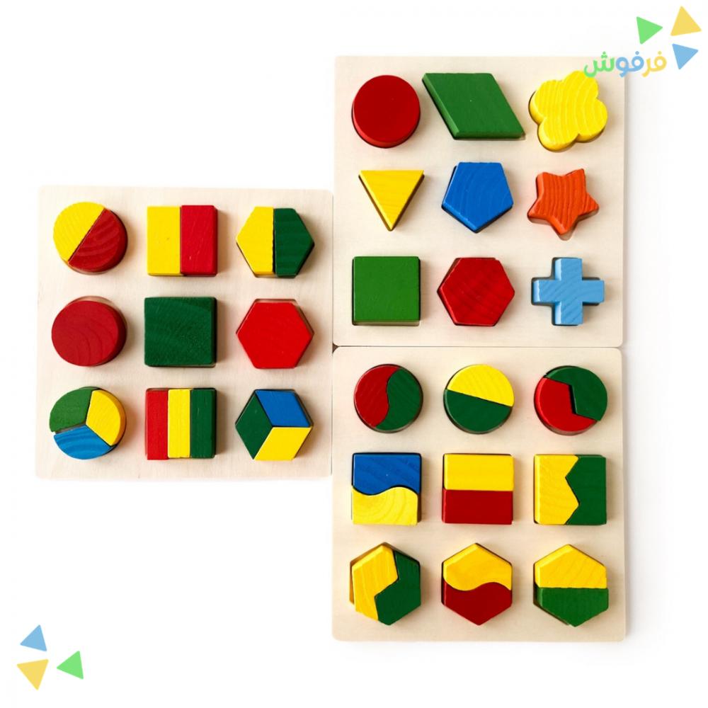تعليم الطفل الأشكال الهندسية