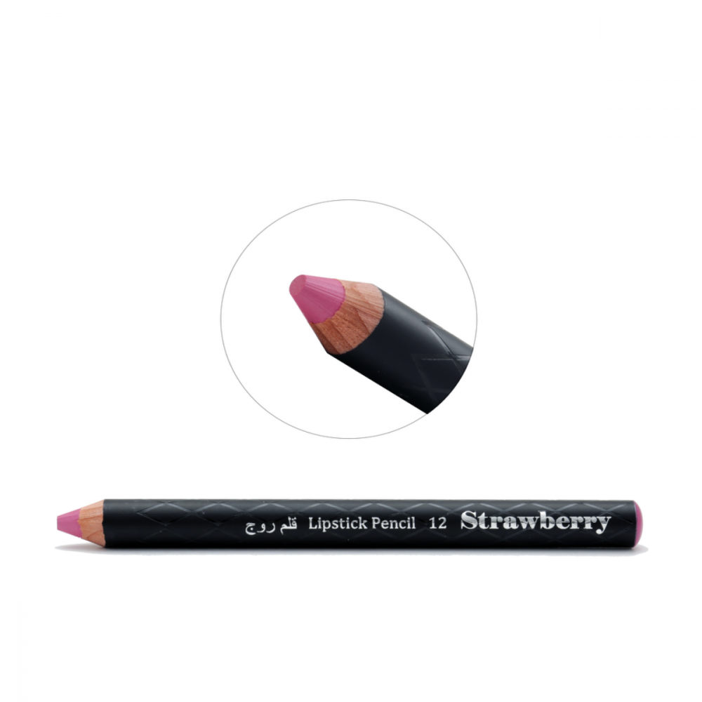 Strawberry Lipstick Pencil No-12