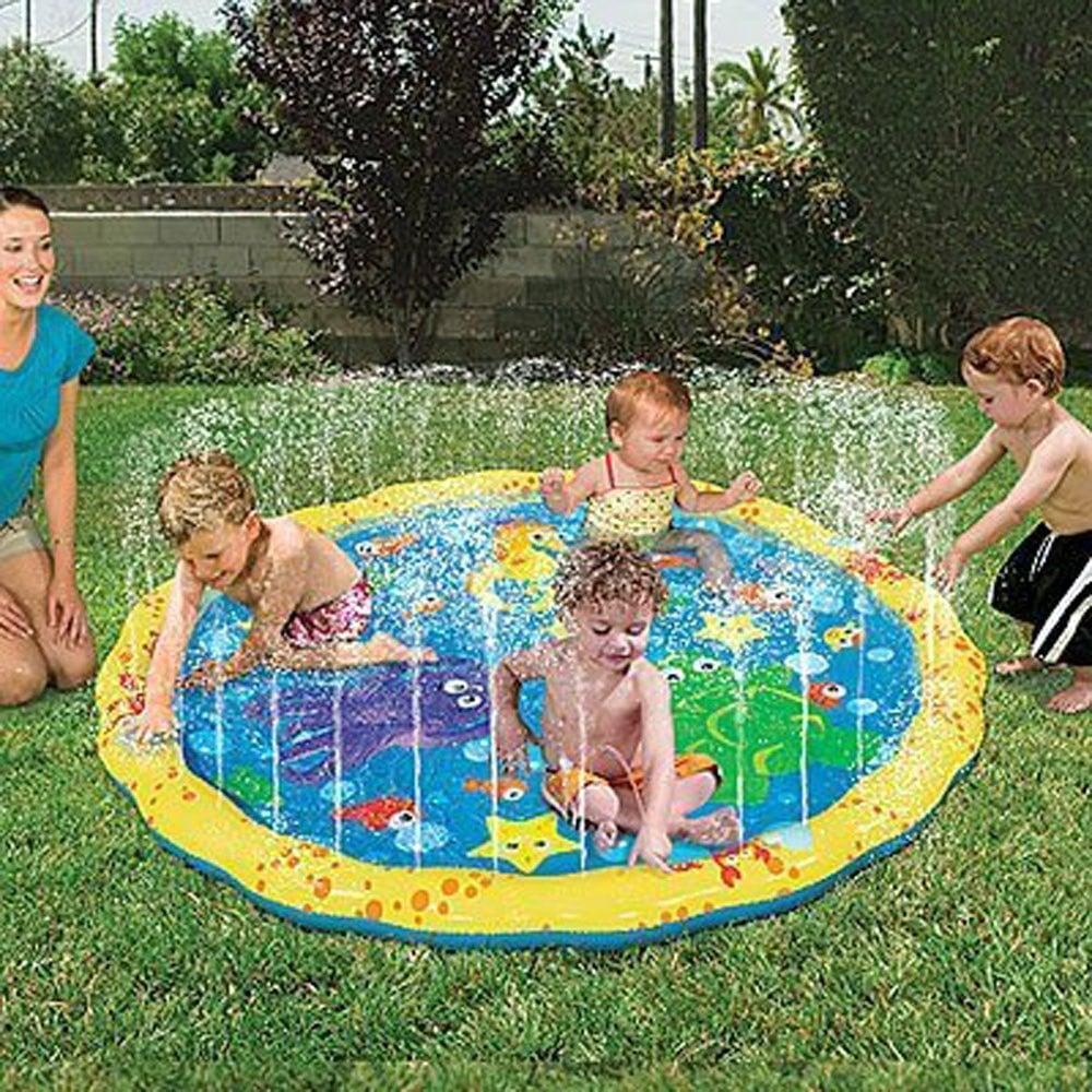 بساط حمام سباحة للأطفال بخ رذاذ الماء للمرح واللعب في الهواء الطلق