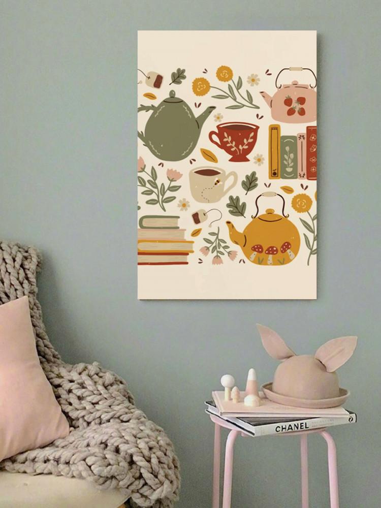 لوحة الشاي خشب ام دي اف مقاس 40x60 سنتيمتر