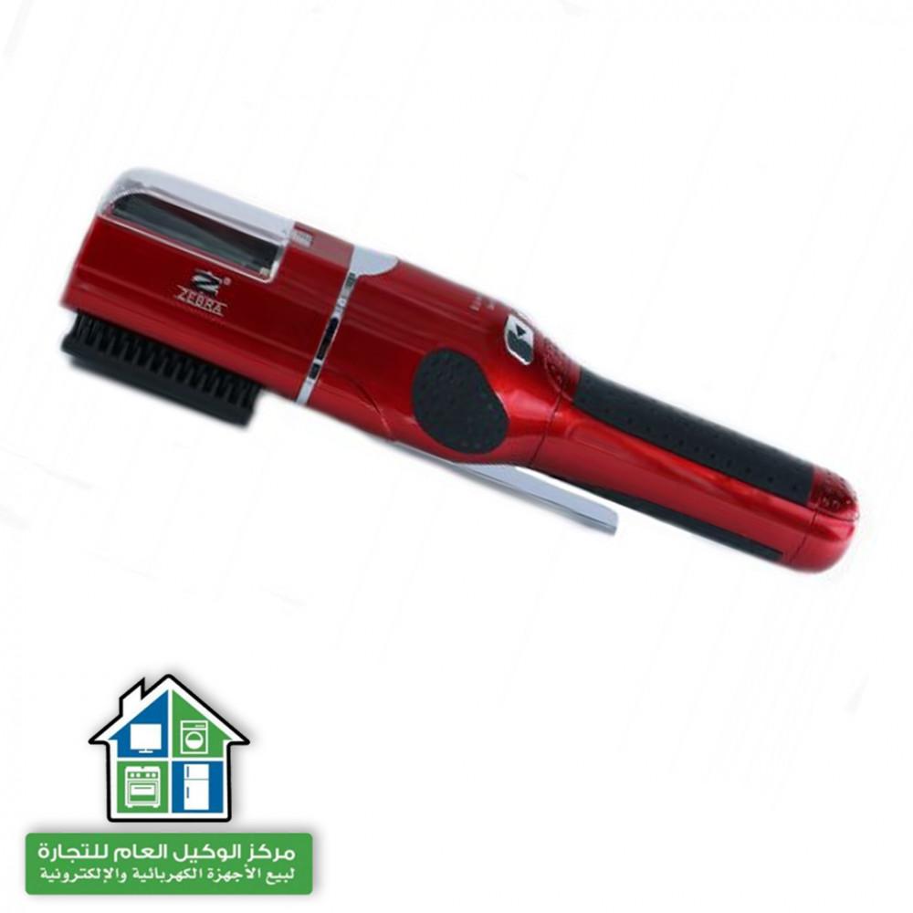 زيبرا جهاز قص اجزاء الشعر المتقصف , احمر - ZR-165
