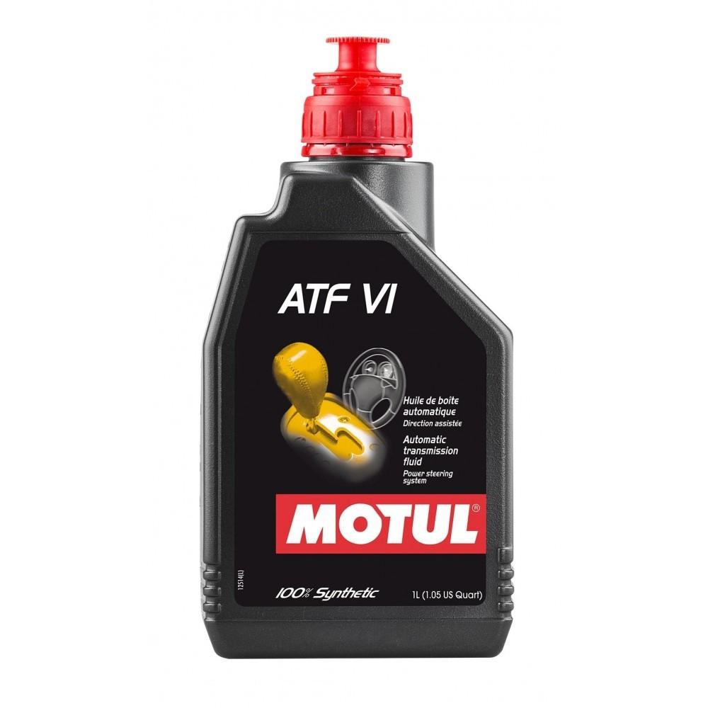 زيت قير موتول Motul Atf Vi 100 Synthetic Automatic Transmission Fluid Power Steering System 1l لوب ماسترز Lube Masters