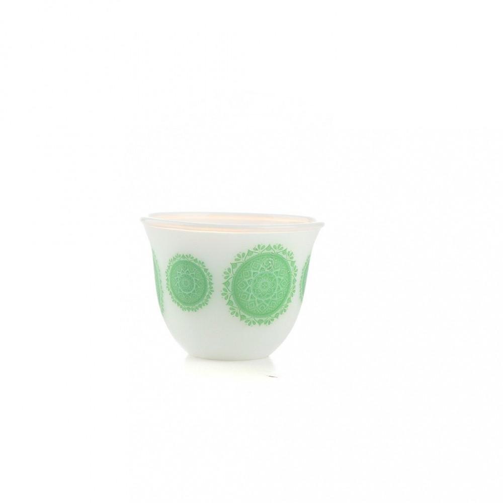 فنجان الكيف اركوبال اخضر وسط