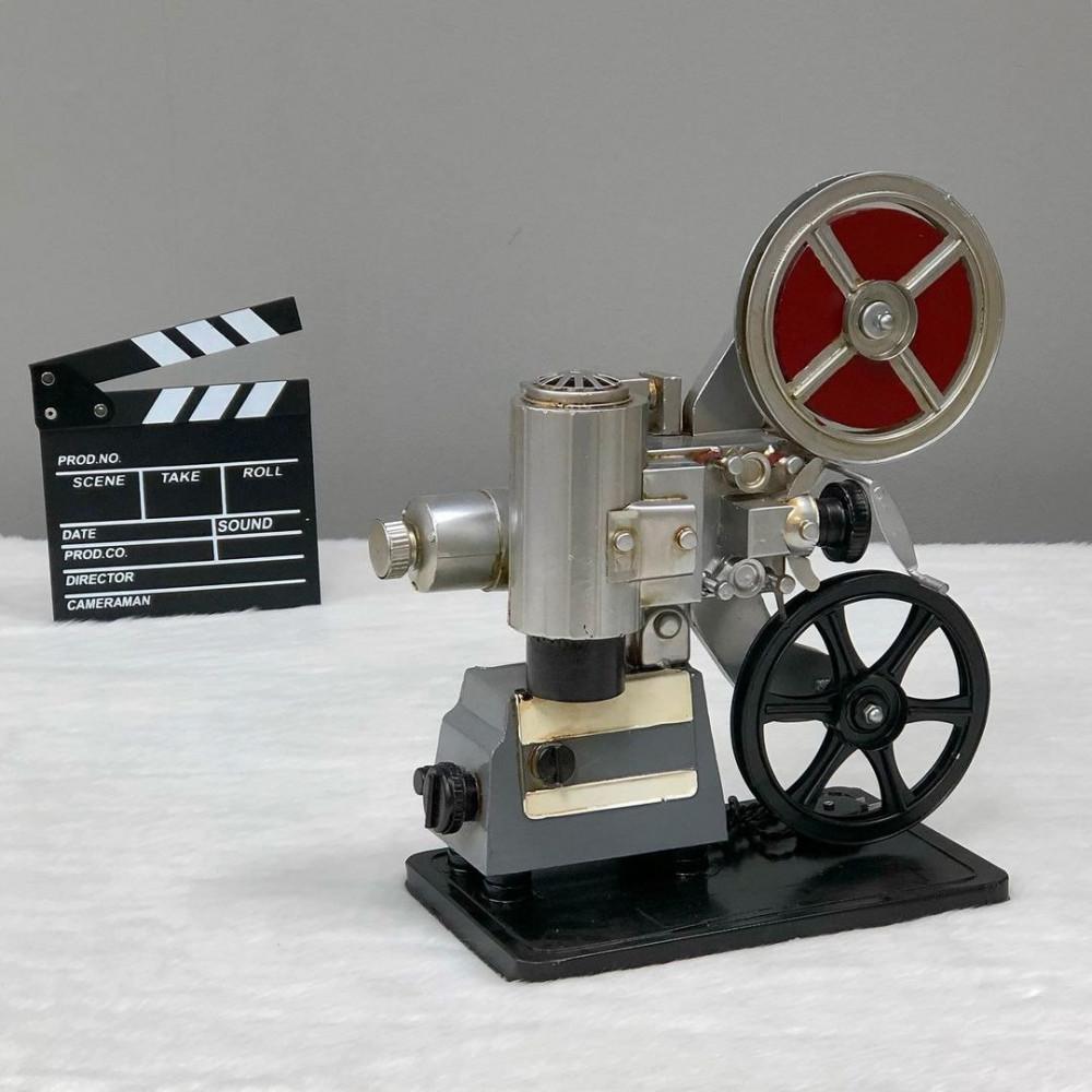 ديكور كاميرا فيديو حديد انتيك تحف وهدايا انتيكات ديكور
