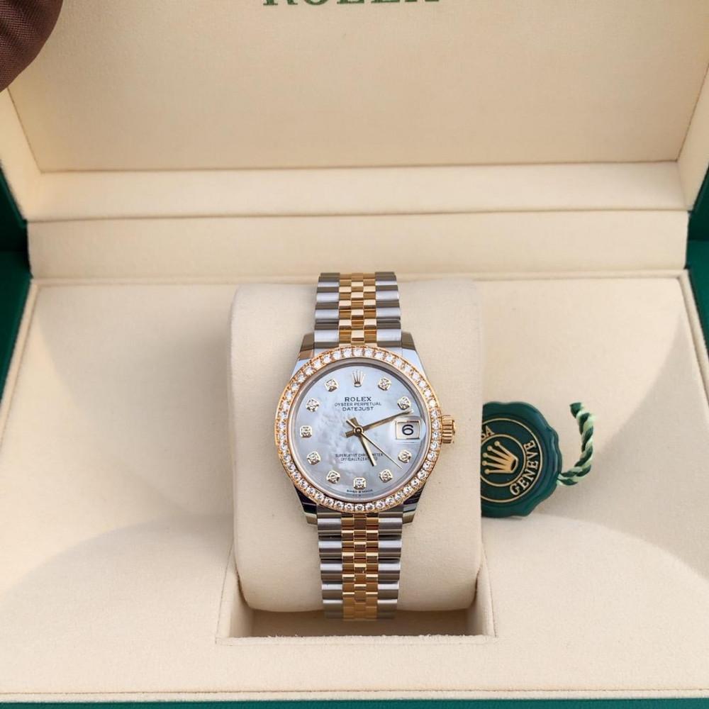 ساعة رولكس ديت جست الأصلية الثمينة جديدة كليا 278383